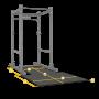 Body Solid Floor Mat zu Power Rack SPR500/1000/GPR378 (SPRPLATFORM)