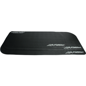 Life Fitness floor protection mats, anthracite