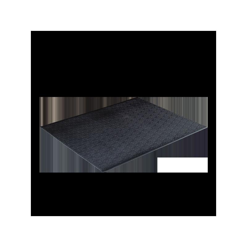 Bodenschutzmatte 121 x 91cm, schwarz (RF34B)