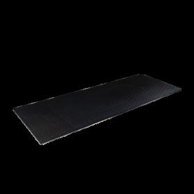 Bodenschutzmatte 259 x 91cm, schwarz (RF38R)