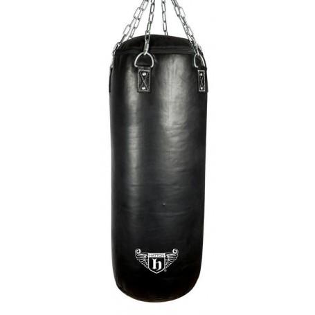 Hatton 35kg Heavy Leather Punching Bag 100x40cm (JLBOX-HAT100BL)