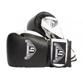 Gants de boxe Hatton Pro en cuir (JLBOX-HATSG)