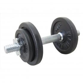 Finnlo 10kg dumbbell set, cast iron (6720)