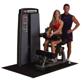 Body Solid Club Line - Double abdominaux/extension du dos (DAB