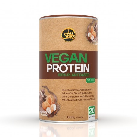 All Stars Vegan Protein 600g Dose