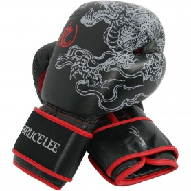 Gants de boxe de luxe Bruce Lee (14BLSBO001)