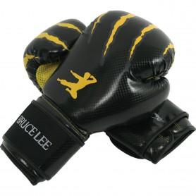 Gants de boxe Bruce Lee en cuir synthétique (14BLSBO005)