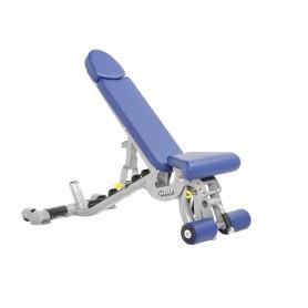 Hoist Fitness Super Flat/Incline/Decline Bench (CF-3165)