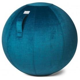 VLUV VLUV - VARM Samt-Sitzball, Pacific, 60-65cm