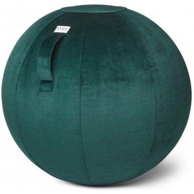 VLUV VARM Samt-Sitzball, Forest, 60-65cm